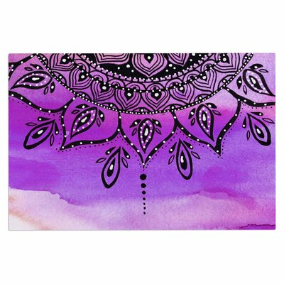 Lilac Mandala Doormat