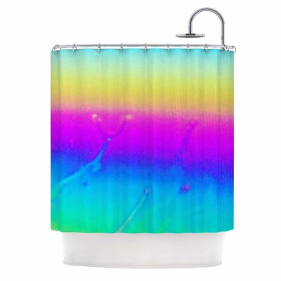 Indigo Soul Digital Shower Curtain