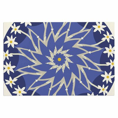 Sawtooth Flower Doormat