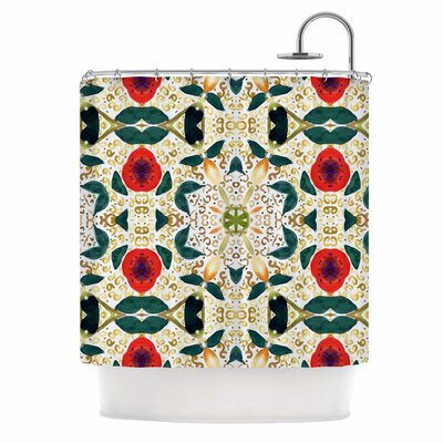 Persimmons and Peaches Shower Curtain
