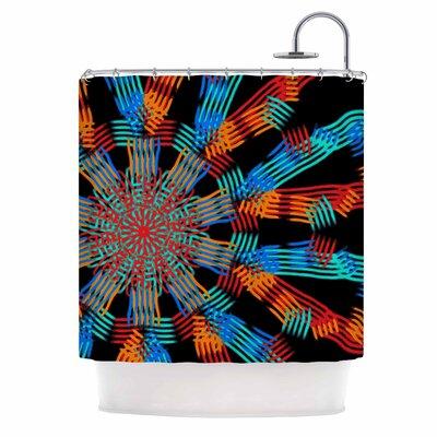Ribbon Ring Shower Curtain