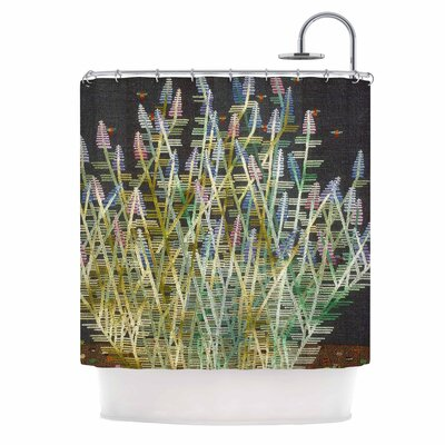 Russian Sage Shower Curtain