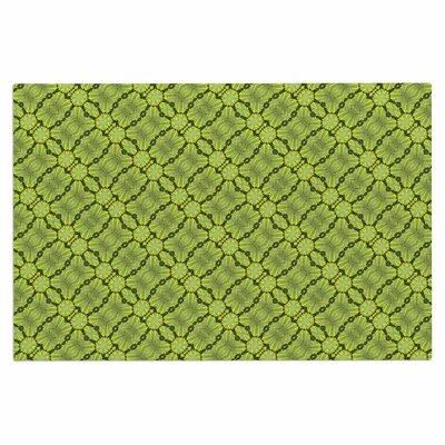 Leafy Lozenges Doormat