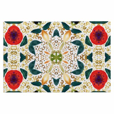 Persimmons and Peaches Doormat