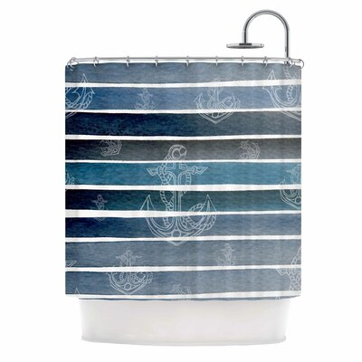 'Marine II' Shower Curtain