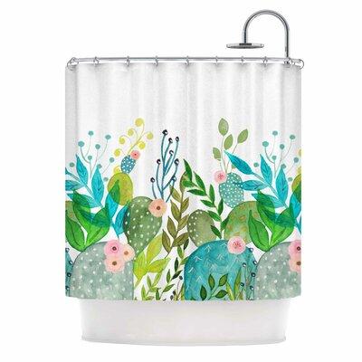 Cute Foliage Shower Curtain