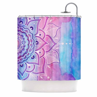 Light Mandala Shower Curtain