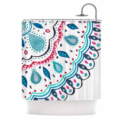 Doile Arabesque Shower Curtain