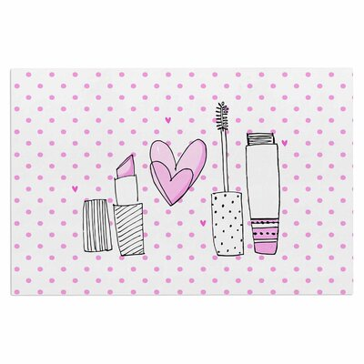 Girls Luv Makeup Decorative Doormat
