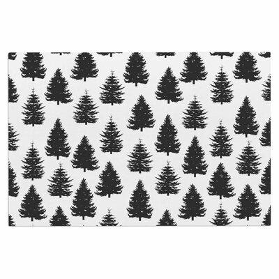Pine Forest Nature Decorative Doormat
