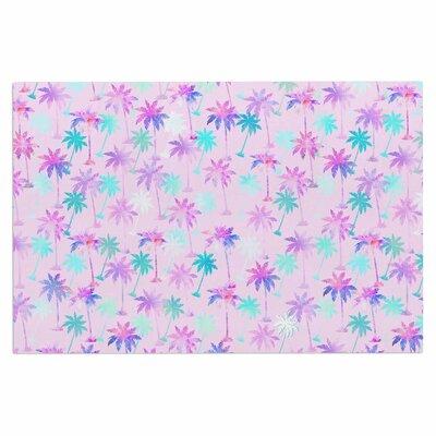 Palm Tree Pattern Doormat