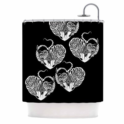 'Heart' Love Shower Curtain