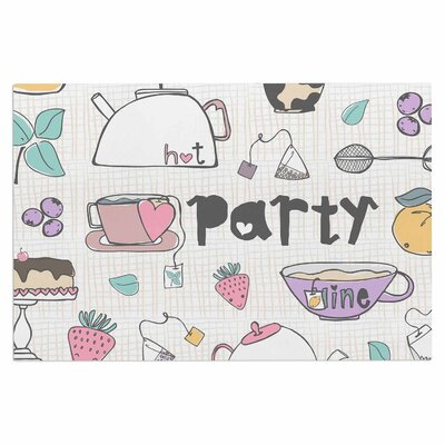 Tea Party Doormat