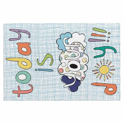 Today is Your Day Cloud Decorative Doormat
