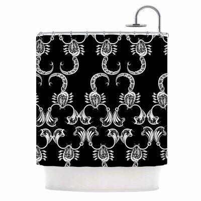 Scorpio Nature Shower Curtain