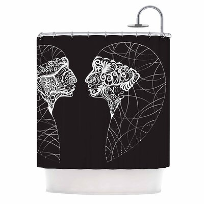 Two Twins Shower Curtain