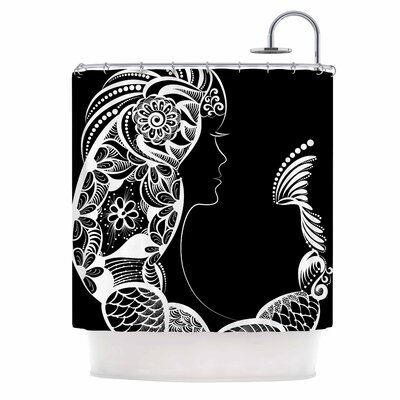 Horoscope Virgin Shower Curtain