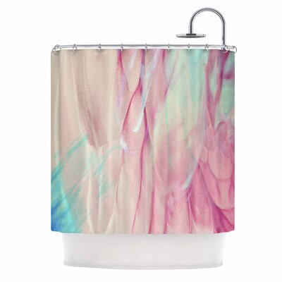 Galactic Abstract Digital Shower Curtain