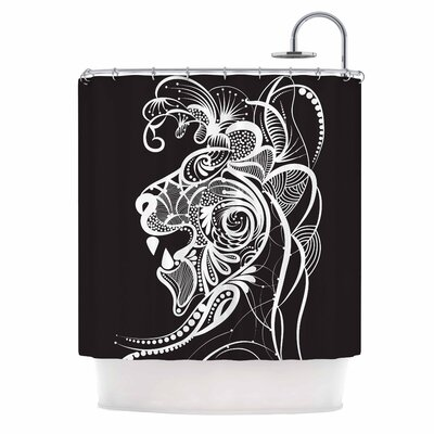 Kind Lion Shower Curtain