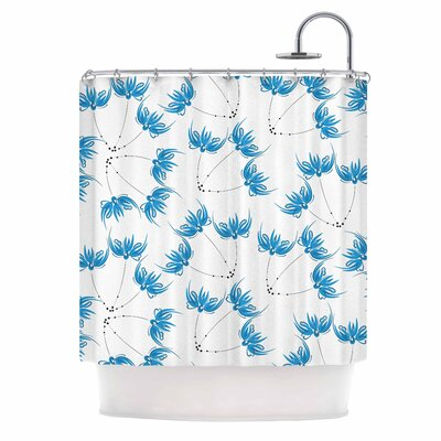 Flower Centaur 2 Digital Shower Curtain