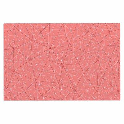 Wanderlust Doormat Color: Pink/Coral
