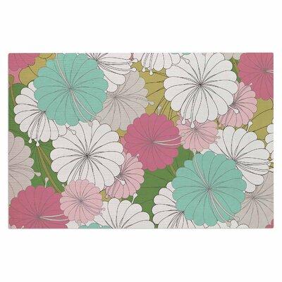 Parasol Flowers Doormat