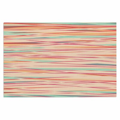 Stripy Wood Bark Stripes Decorative Doormat