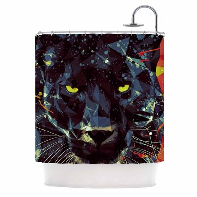 Le Noir Parduc Shower Curtain