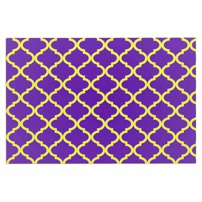 Culture Shock Doormat Color: Yellow/Purple