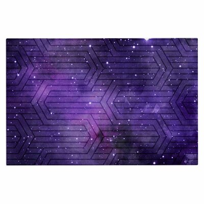 Cosmic Labyrinth Doormat