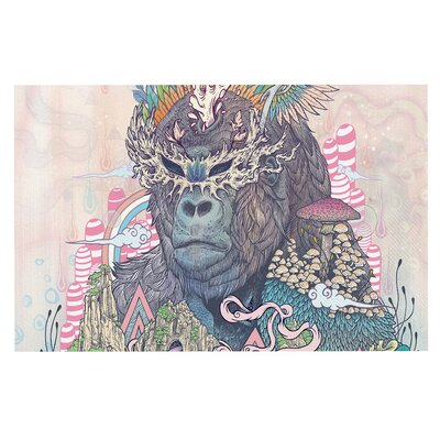Ceremony Fantasy Gorilla Decorative Doormat