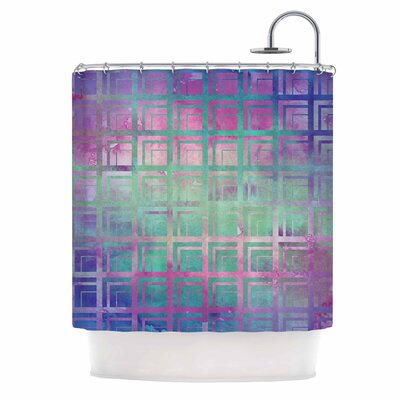 Tiled Poison Shower Curtain