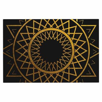 Gilded Sundial Doormat