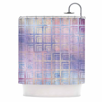 Tiled Dreamscape Shower Curtain