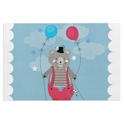 'Circus Bear' Doormat