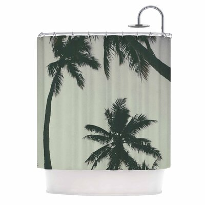 Rise of Palms Photography Shower Curtain