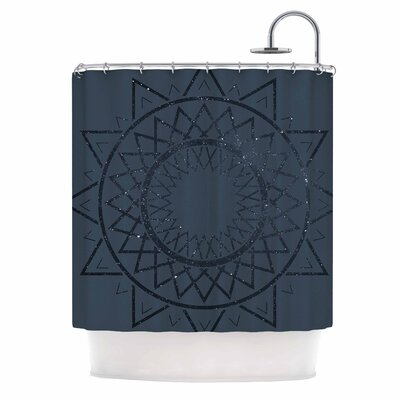 Lunar Sundial Shower Curtain