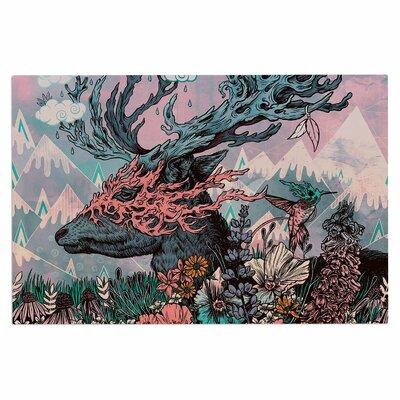 Journeying Spirit (Deer) Fantasy Decorative Doormat