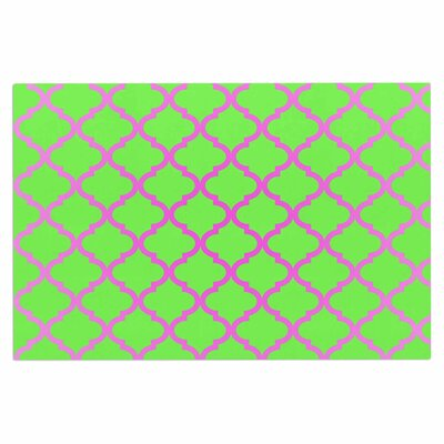 Culture Shock Doormat Color: Green/Pink