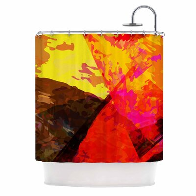 'Into the Fire' Shower Curtain