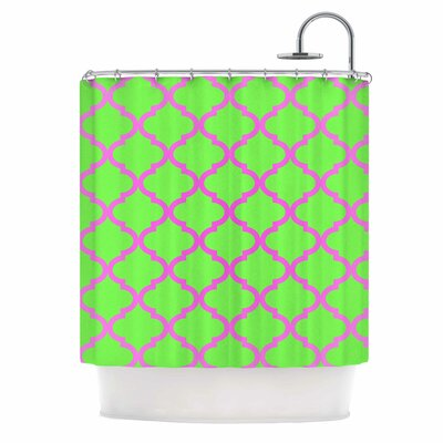 Culture Shock Watermelon Shower Curtain