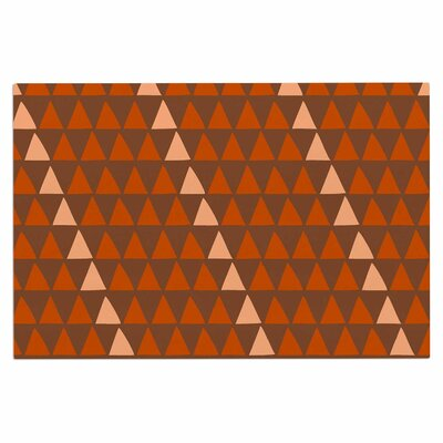 Overload Doormat Color: Brown/Orange