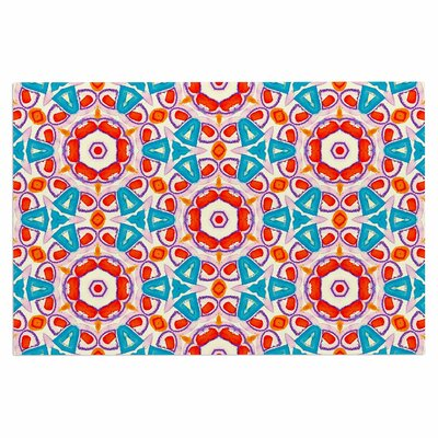 Kaleidoscopic Circles Doormat