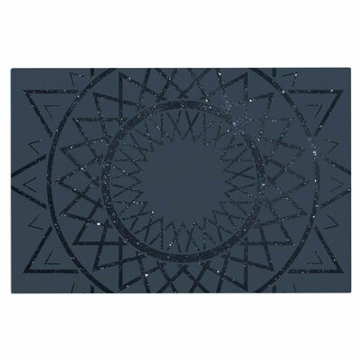 Lunar Sundial Doormat