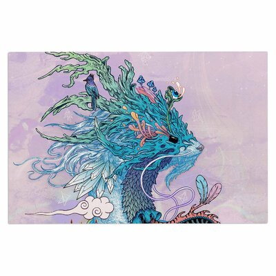Journeying Spirit (Ermine) Fantasy Decorative Doormat