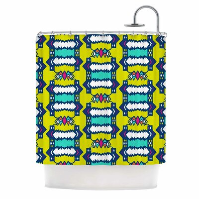 Party Vibes Shower Curtain