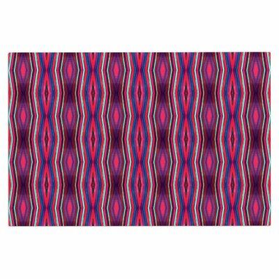 Watercolor Zigzag Doormat