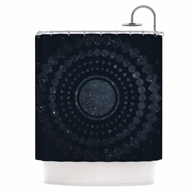 Lunar Confetti Shower Curtain