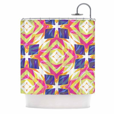 Dancing Tiles Shower Curtain
