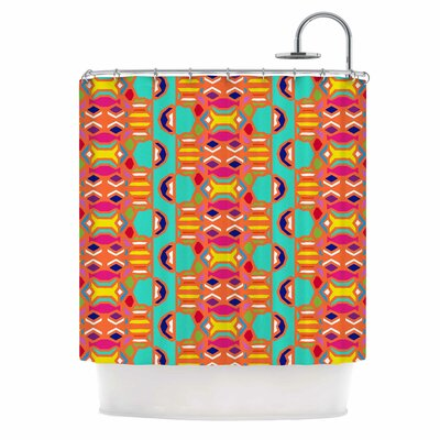 Summer Fun Treal Shower Curtain